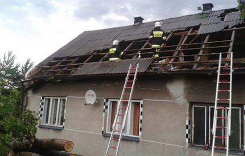 Giełdoniowie stracili dach nad głową. Szukają pomocy, nie mają gdzie...