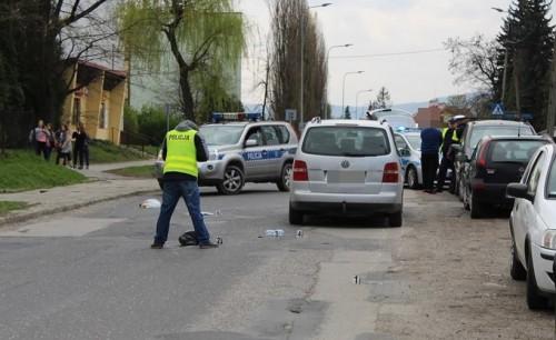 Tragiczny finał wypadku w Andrychowie. W szpitalu zmarł 10-letni...