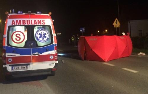 Tragedia w Tomicach! Na drodze krajowej zginął motocyklista