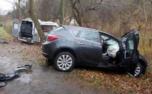 Osiem osób rannych w wypadku w Brodach. Kierowca opla wjechał