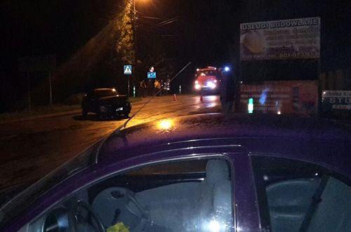 W Wadowicach zginęła kobieta potrącona przez auto