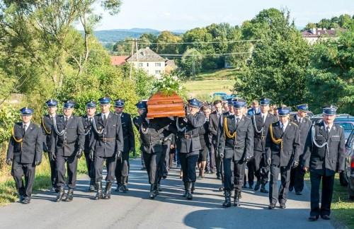 Pogrzeb Adama Kręciocha. Tak Tomice żegnały wójta