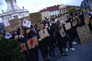 Strajk kobiet w Wadowicach