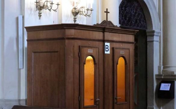 Kalwaryjskie sanktuarium zainwestowało w konfesjonały z... klimatyzacją....
