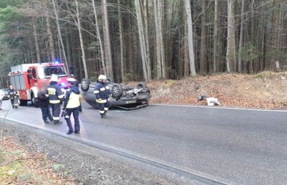 Senator Andrzej Pająk miał wypadek samochodowy