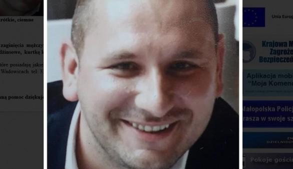 36 -letni Michał znikł bez śladu i samorządy mają teraz problem....