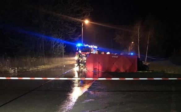 Tragedia na drodze we Frydrychowicach. W wypadku zginęły dwie o...