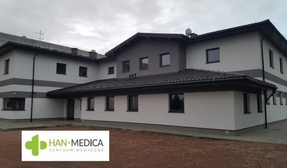 Centrum Medyczne HAN-MEDICA w Wadowicach już otwarte. Zapraszam...