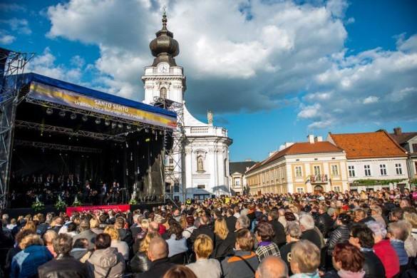 W Lany Poniedziałek koncert TVP na rynku w Wadowicach w hołdzie...