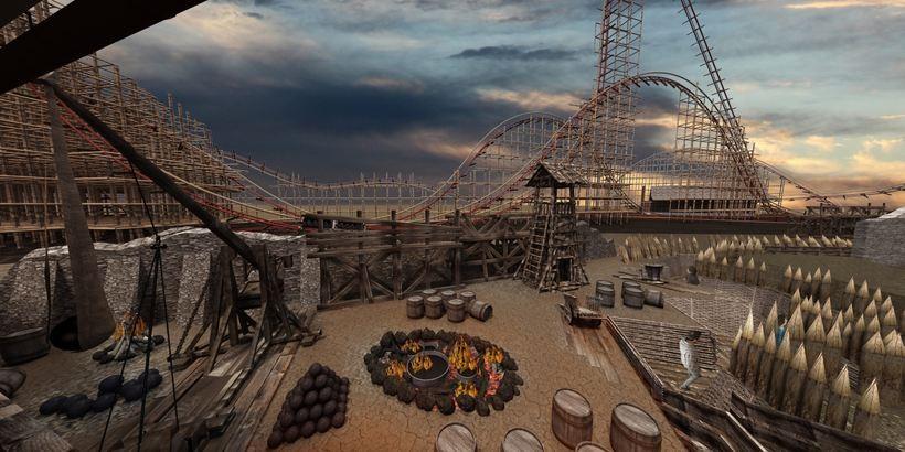 Tak zwany Wooden Coaster powstanie w Zatorze i będzie największą tego typu konstrukcją na świecie
