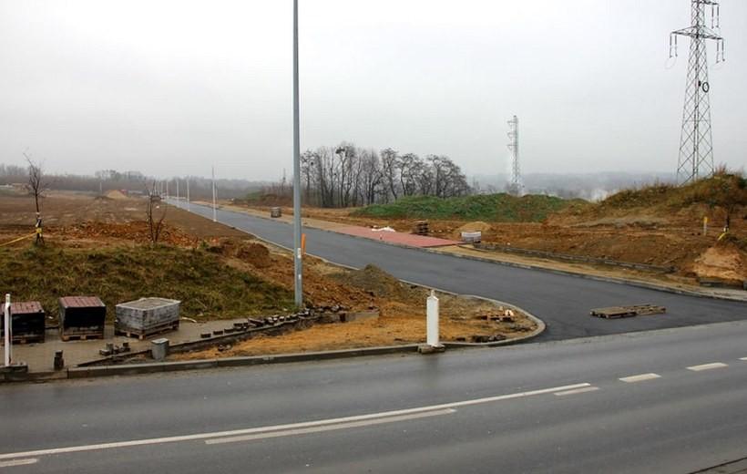 Budowa strefy ekonomicznej w Andrychowie dobiega powoli końca