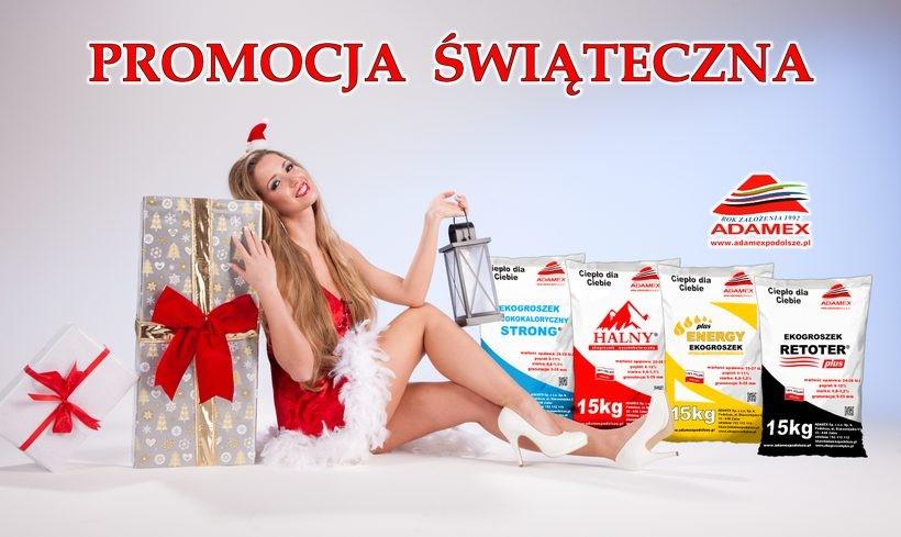 Promocja świąteczna w e-sklepie ekogroszekplus.pl!