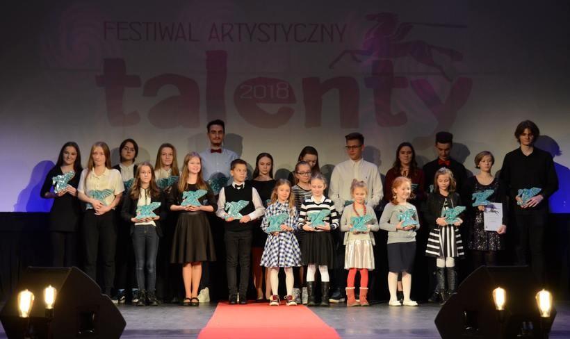 Laureaci festiwalu Talenty 2018