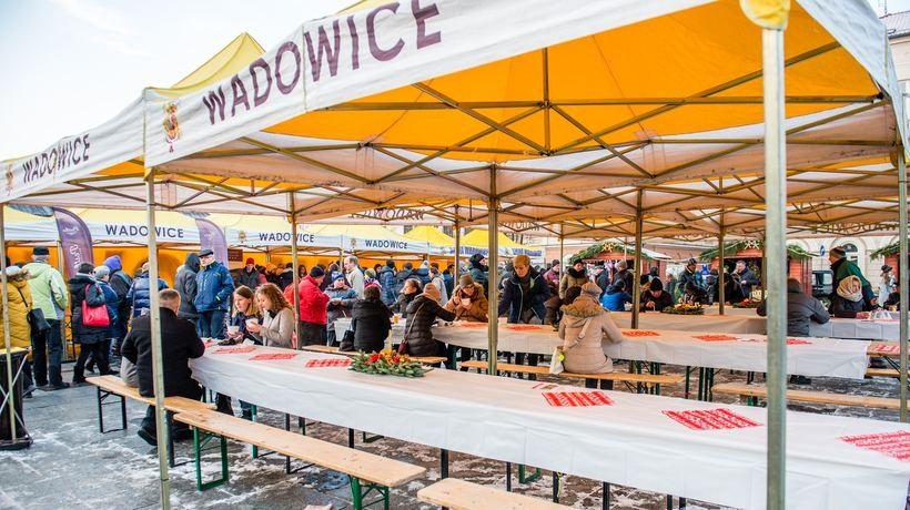Jarmark świąteczny w Wadowicach