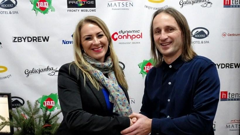 Karol Habrzyk i Magdalena Ornecka
