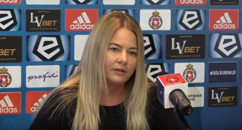 Marzena Sarapata, była prezes Wisły Kraków