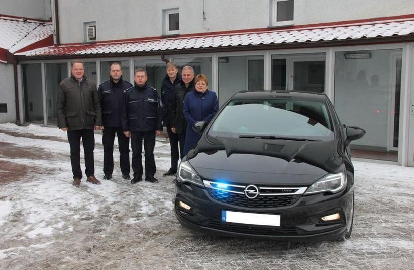 Tak wygląda nowy nieoznakowany radiowóz policjantów z Andrychowa