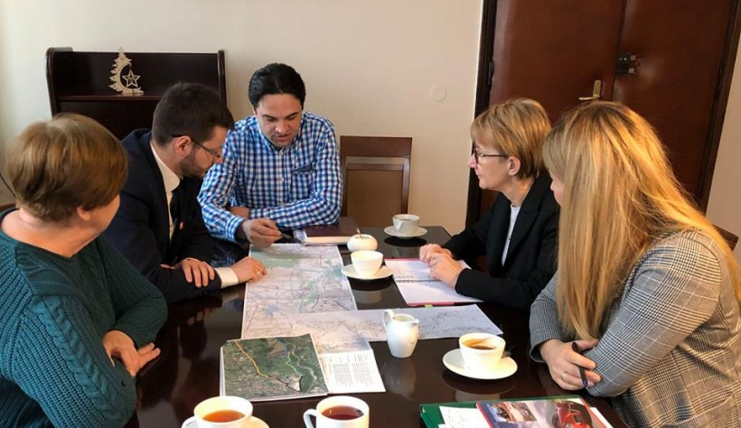 Wójtowie Mucharza i Stryszowa oraz burmistrz Wadowic spotkali się w tym tygodniu, by zacząć współpracę
