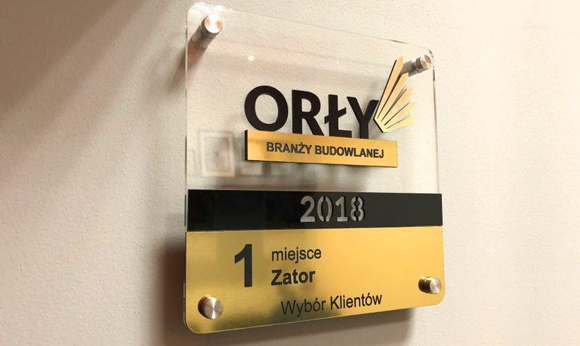 Firma ADAMEX Orłem Branży Budowlanej 2018!