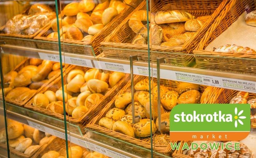Stokrotka Market w Wadowicach poleca pyszne pieczywo wypiekane ze świeżego ciasta!