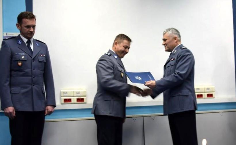 Wadowicka policja pożegnała komendanta. Odszedł na zasłużoną emeryturę