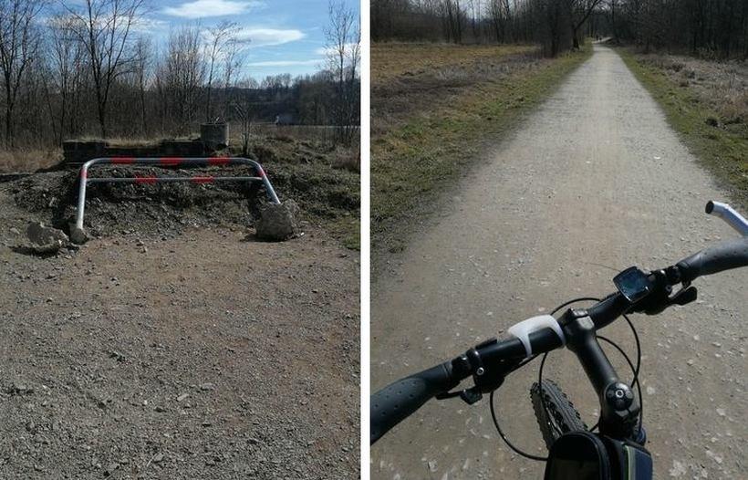 Wadowicki odcinek ścieżki rowerowej