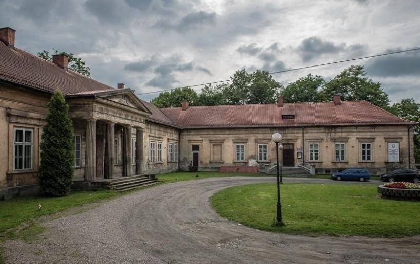 Pałac Bobrowskich, jeden z obiektów będacych dziś pod opieką centrum