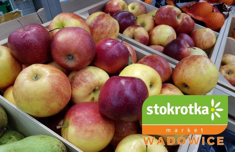 Mega promocja na pyszne, polskie jabłka w Markecie Stokrotka