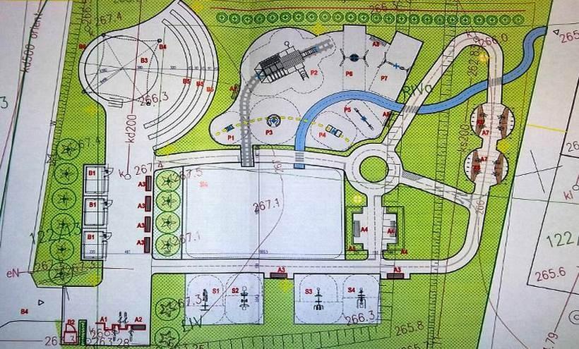 Projekt centrum rekreacji w Radoczy