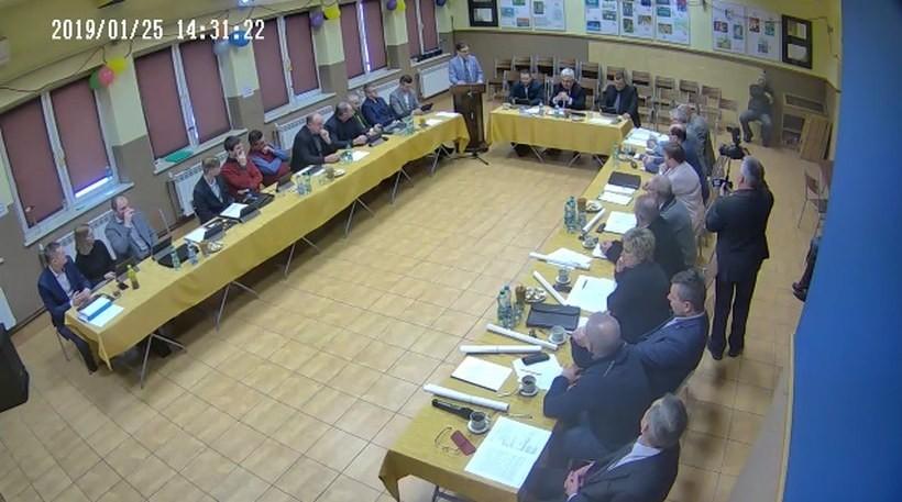 Radny stracił madnat w czasie głosowania radnych 25 stycznia 2019 roku