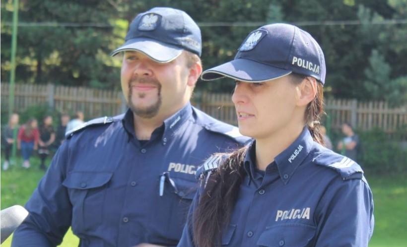 Sebastian Stalmach i Dominika Lachendro uratowali człowieka przed utonięciem