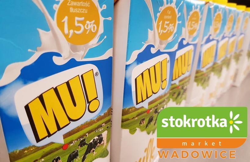 Market Stokrotka poleca Mleko UHT w promocyjnej cenie!