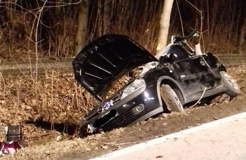 Poważny wypadek w Rzykach. Kierowca był pijany?