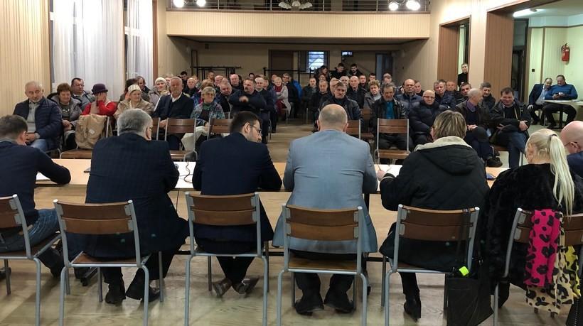 Zebranie w Choczni