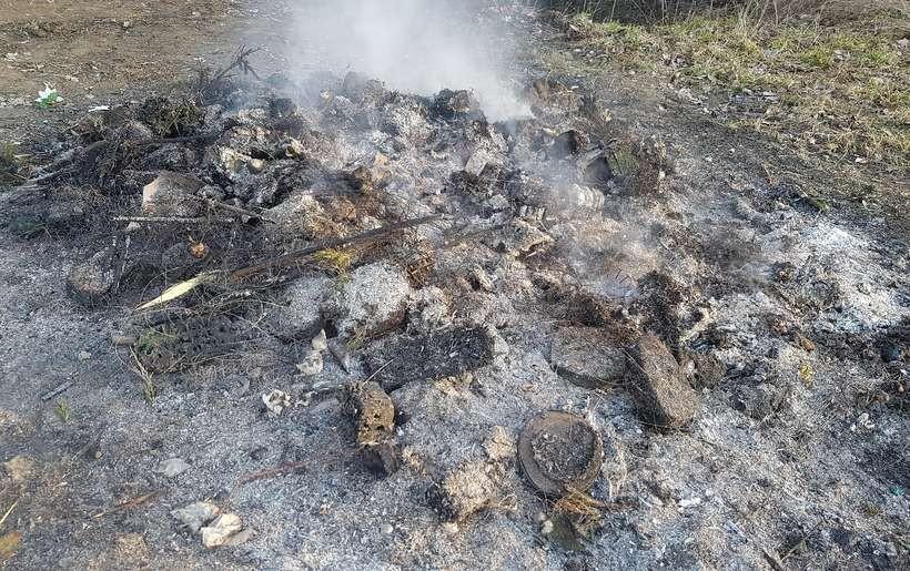 Po co wywozić na wysypisko z Choczni do Choczni, skoro można spalić