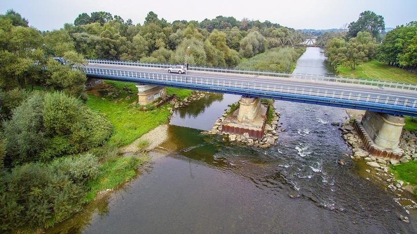 Obok mostu powstanie drugi tymczasowy