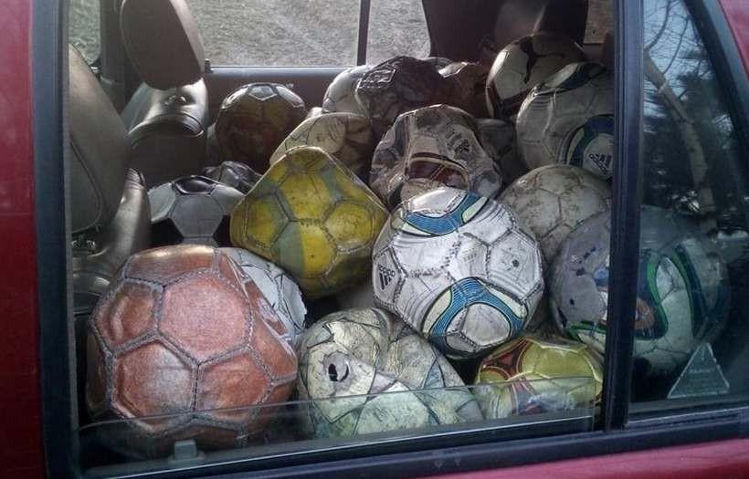 Stare piłki przydadzą się do ważnych ćwiczeń