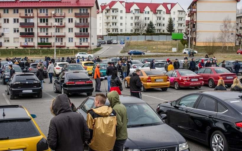 Charytatywny MotoSpot w Kalwarii Zebrzydowskiej