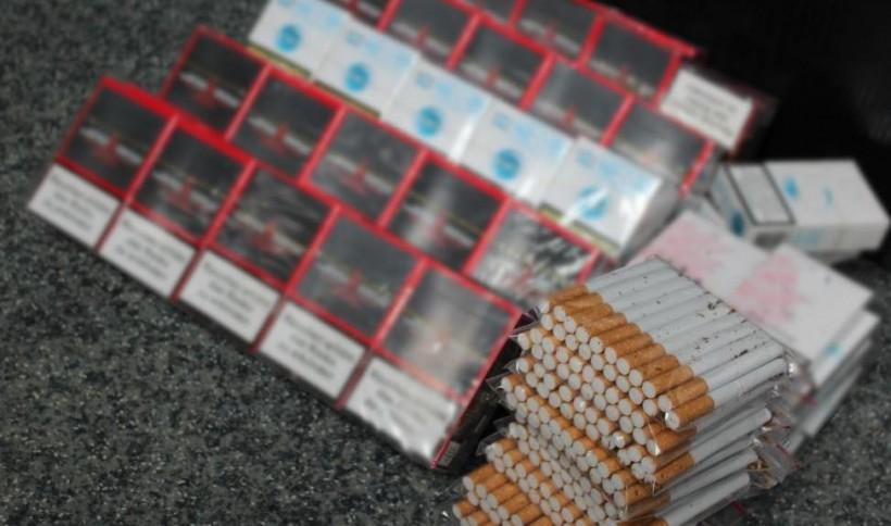 Lewe papierosy sprzedawano na targu w Wadowicach. Policja zlikwidowała kontrabandę