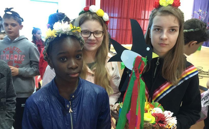 Dzieci z Paszkówki w szkole za granicą