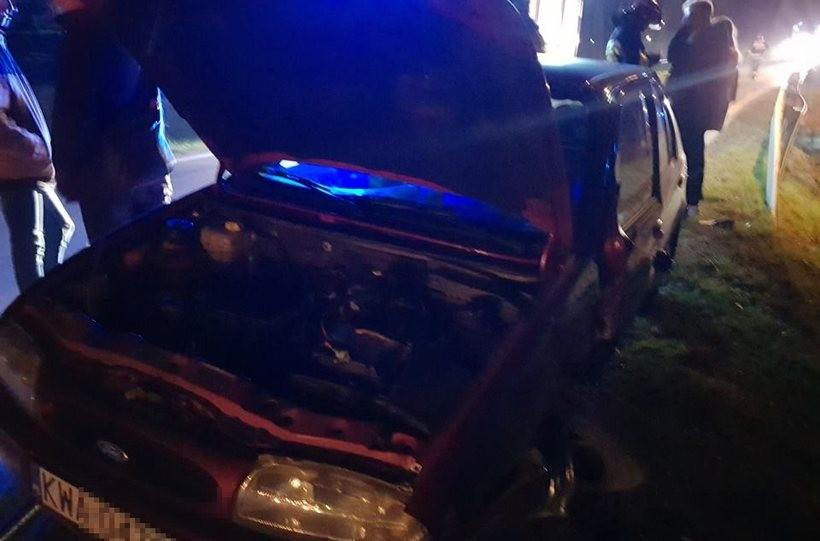 W kolicji zniszczone zostały trzy auta