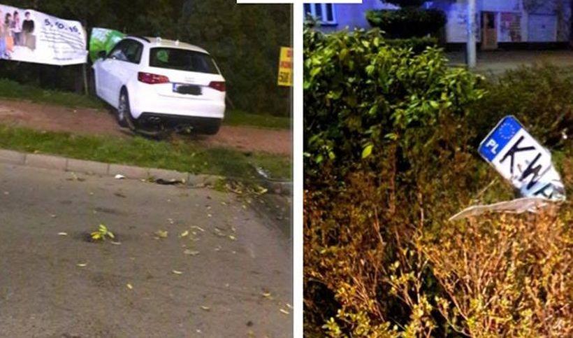 Nocny wypadek w Andrychowie
