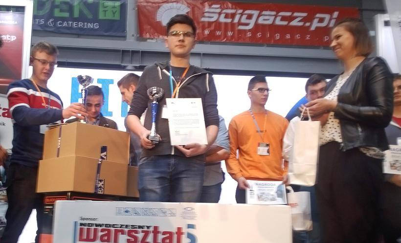 Mechanik z Wadowic najlepszy w kraju. Grzegorz miał 300 konkurentów i dał radę!