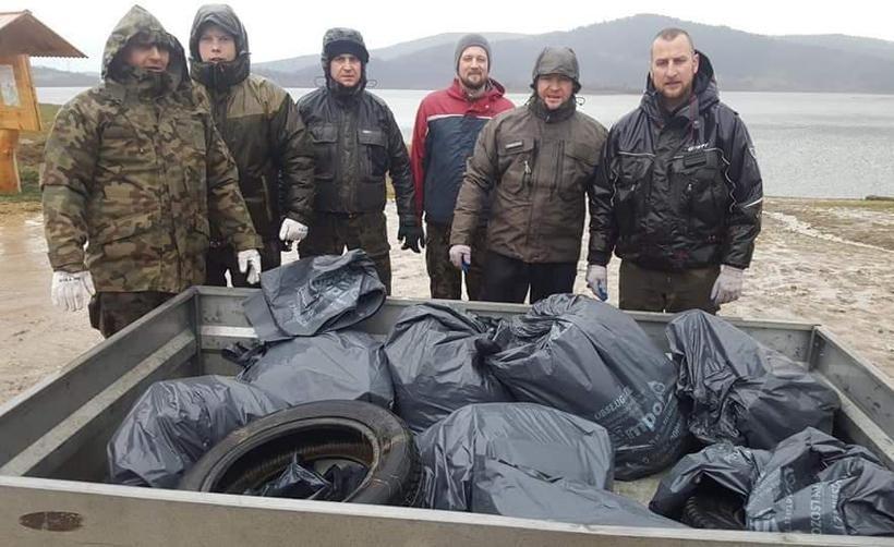Duża mobilizacja w gminach wokół Jeziora Mucharskiego. Zamierzają posprzątać brzegi zbiornika