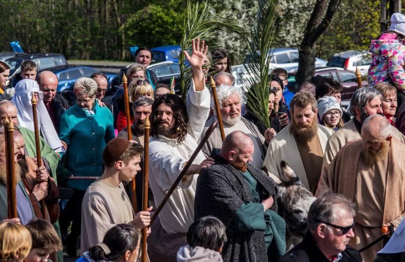 Misterium Męki Pańskiej w Sanktuarium w Kalwarii Zebrzydowskiej