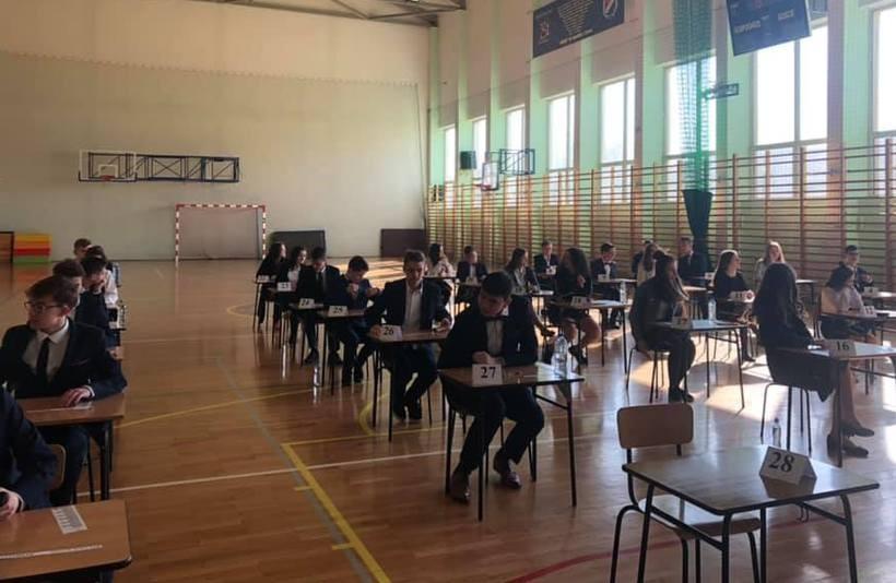 Uczniowie w Szkole Podstawowej nr1 w Choczni