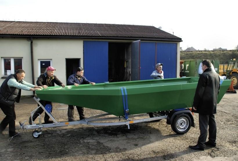 Spytkowice kupiły łódź ... w ramach działań przeciwpowodziowych