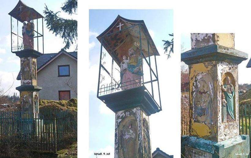 Kaplika w miejscowości Wysoka