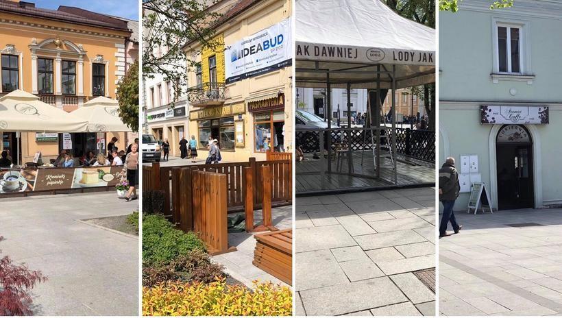 W czwartek restauratorzy rozpoczęli rozstawianie ogródków na rynku
