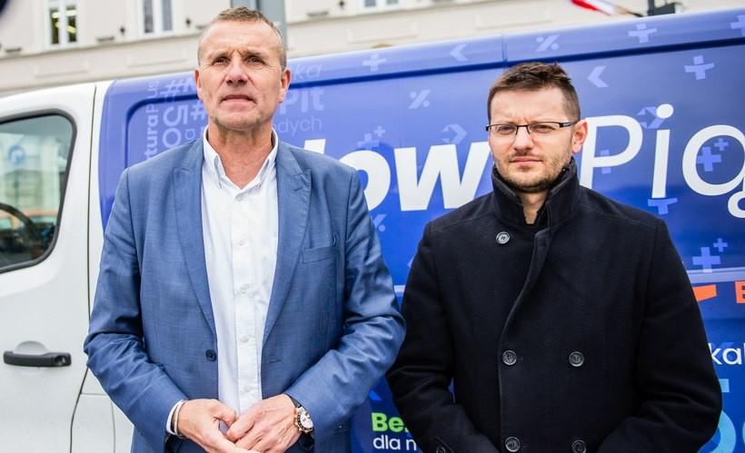 Zbigniew Starzec i Bartosz Kaliński